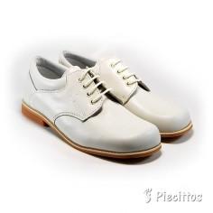 Zapatos Piel Beige Nacarado